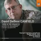 """David DeBoor Canfield: Three """"After"""" Concertos (CD, Apr-2016, Toccata Classics)"""