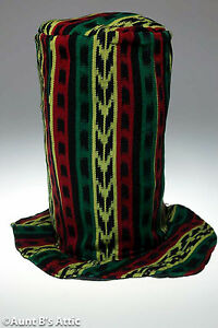 Rasta-Tall-Top-Hat-Fabric-Covered-Novelty-Stove-Pipe-Costume-Hat