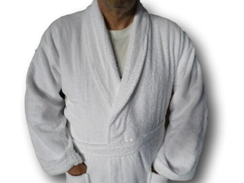 with hood - Plain or Name Terry Towelling Bath Robe Adult Child or Baby hood