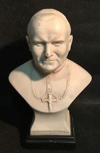 vintage-art-marble-albast-bust-statue-pope-John-Paul-II-signed-R-Leoni