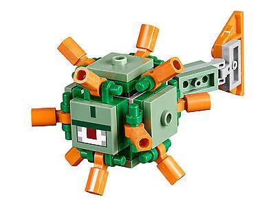 Der GüNstigste Preis Lego Minecraft - Wächter / Guardian - Figur Minifig Elder Ozean Ocean 21136