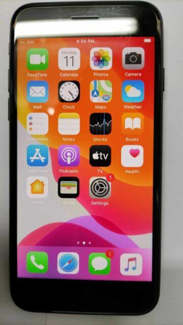 Unlocked Iphone 7 Jet Black 128GB