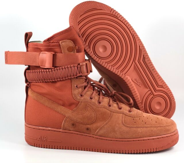 Nike SF AF1 Special Field Air Force 1 Dusty Peach Red 864024 204 Men's 10.5 11.5