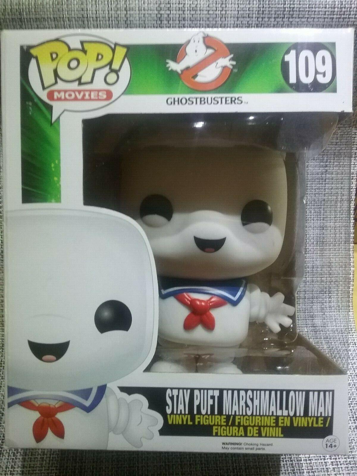Funko Pop  Stay Puft Marshmallow Man  109 Ghostbusters