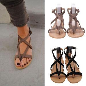38f74d4f04b0 Ladies Womens Flat Wedge Espadrille Rome Tie up Sandals Platform ...