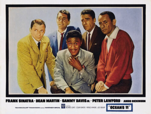 "OCEAN/'S 11 24/""x36/"" Canvas Classic Movie Poster Frank Sinatra /& Dean Martin"
