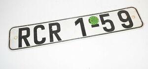 DDR-Kennzeichen-RCR-1-59-Schild-Oldtimer-Nummernschild