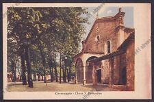 BERGAMO CARAVAGGIO 32 Cartolina