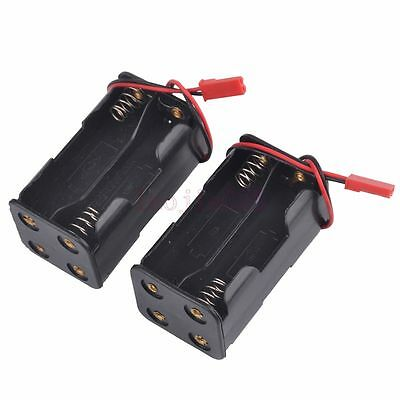 Switch Receiver Battery Pack Case Box 4 x AA RC Compatible JR