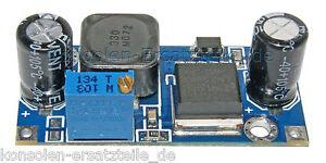 Spannungsregler-LM2596S-DC-DC-einstellbar-z-B-fuer-Arduino-von-12V-gt-9-Volt-NEU