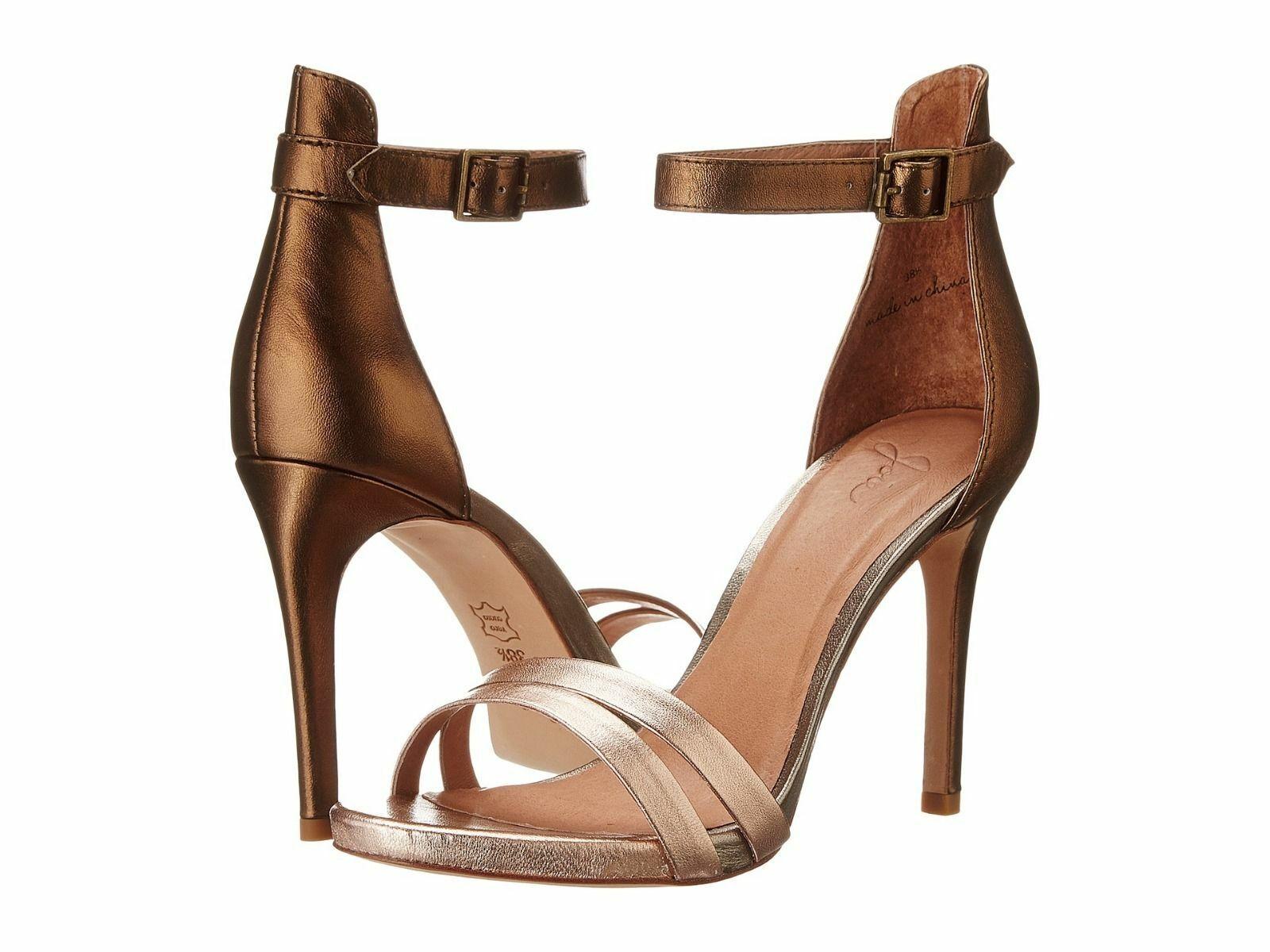 Joie oro Jenna  Metallic Leather Open -toe Sandals, sz Eur 41, US 11, NEW  più sconto