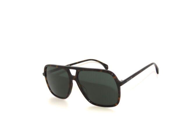 Gucci GG0545S 002 Havane Vert Lunettes de Soleil