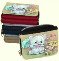 Personalised Ladies Purse with Cute Cat Picture or Add your Own Photo & NameGIFT