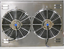 """26"""" x 19"""" Universal Cross Flow Shroud and Dual 12"""" Fans"""