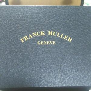 Watches, Parts & Accessories Genuine Flanck Muller Watch Box Storage Case Cloth Description 100% Original