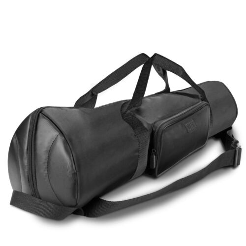 Padded Tripod Case by USA Gear with Expandable Compartment /& Accessory Storage