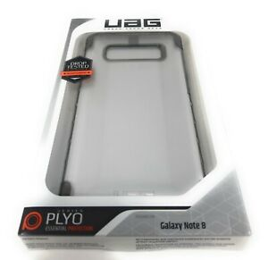 UAG Plyo Armor Frame Impact Resistant Samsung Galaxy Note 8 Case Clear