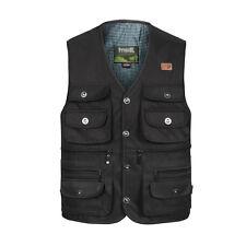 Hunting fishing vest multi pockets safari waistcoat  Professional photo jacket