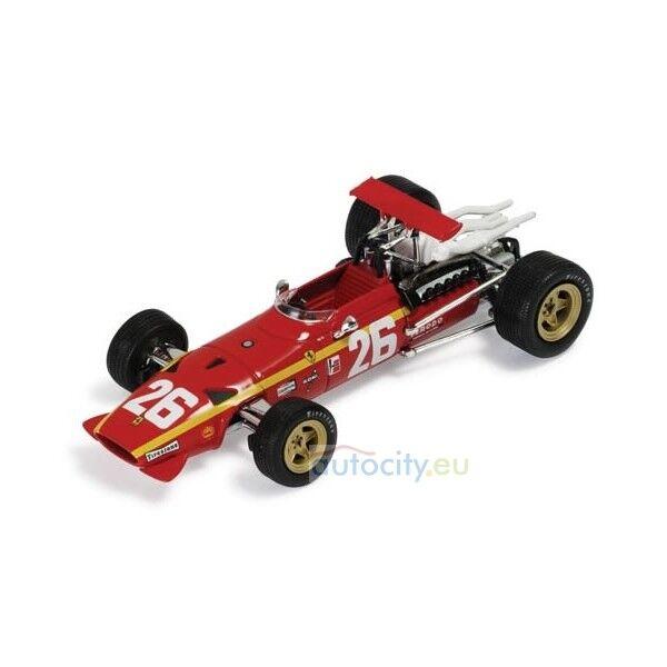 Ixo models SF13 68 FERRARI 312 F1  26 WINNER FRENCH GP ROUEN 1968 IXOSF13