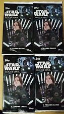 """Topps Star Wars"""" Rogue ONE - Series 1- Lot of 10 Packs 4 card/Pack"""