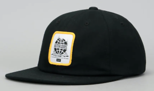 Huf-Worldwide-Cap-Dad-Camp-Hat-Butter-Goods-Feels-Like-Home-6-Panel-Black