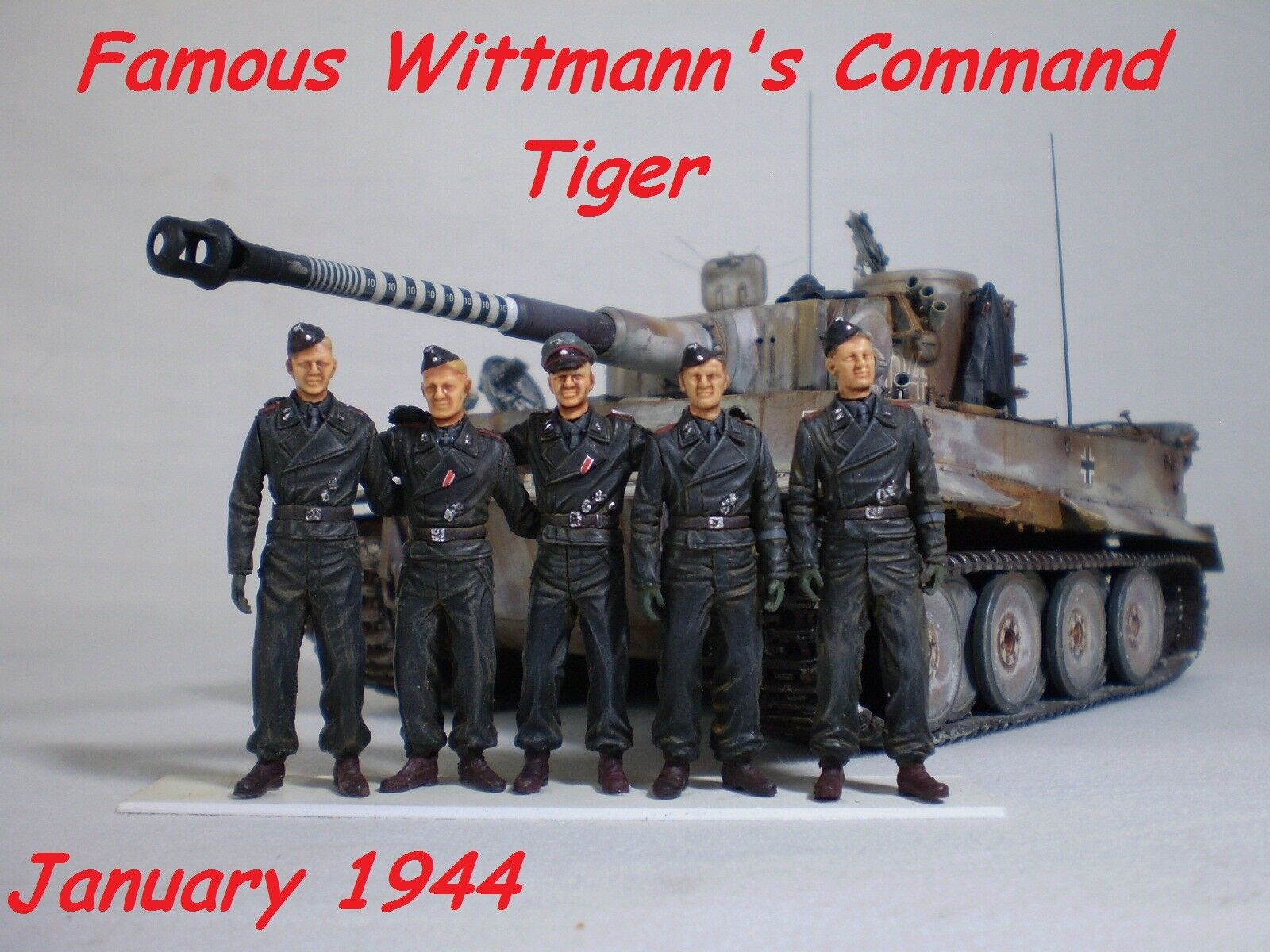 1 35 Built Wittmann's Tiger I Early  - Built 1 35 scale