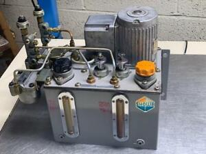Part# 15 Showa Automatic Lubrication System # YMAS-6 220V W// LF01 Filter Used