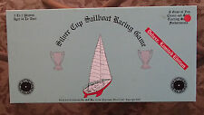 Vintage Silver Cup Sailboat Racing Game Board Limited Three C's COMPLETE 1987