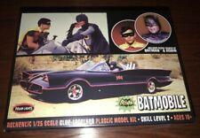 From 1st Season new snap 2011 discontinued POLAR LIGHTS 824 1//25 1966 Batmobile