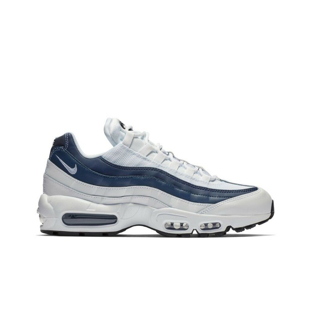 Nike Air Max 95 Essential (White-Midnight Navy-Monsoon) Men's shoes 749766-114