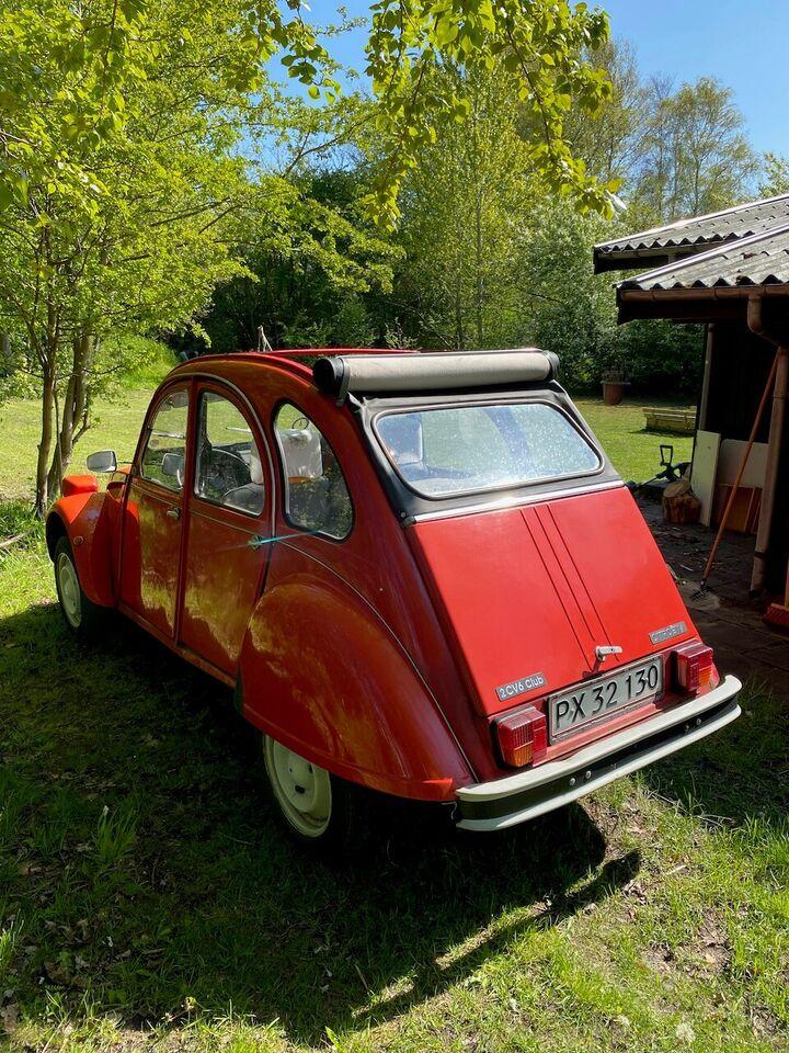 Citroën 2CV, 0,6 Club, Benzin