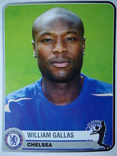 Panini 131 william gallas chelsea fc Champions of Europe 1955 - 2005