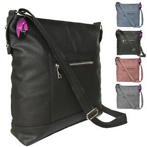 Large-Handbag-Across-Cross-Body-Bag-Long-Shoulder-Strap-Big-Ladies-Messenger
