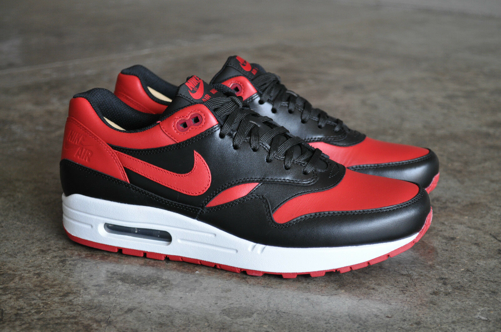 more photos 4a97b 79aed ... greece nike air max 1 brojo prm qs negro blanco rojo universitario  universitario qs bbfd3 1fe32