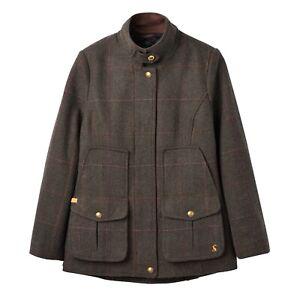 Joules-Fieldcoat-Tweed-Coat-Dark-Green-Tweed-Now-With-30-Off