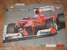 # POSTER FERNANDO ALONSO FERRARI F 2012 GP F.1 CM.71X54 AF6