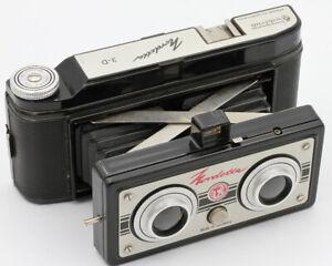 NORDET-3-D-Stereo-Vredeborch-Images-de-55-x-40-mm-Film-127-Allemagne-1948
