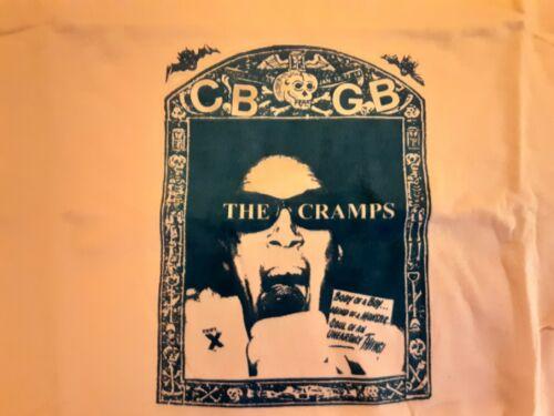 The Cramps CBGB T shirt Sz Medium Orange