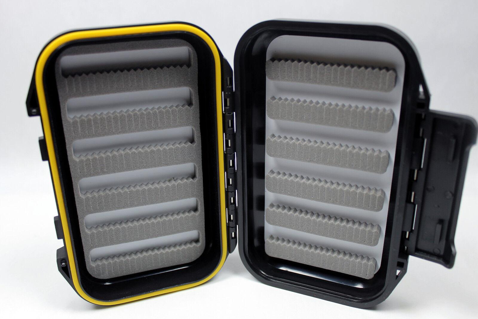 hot Double Side Waterproof Foam Fly Fishing Bait Lure Hook Storage Case Bo.z