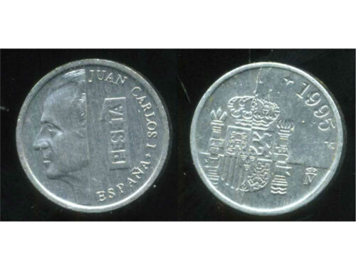 SPAIN  ESPAGNE  1  peseta 1995 etat