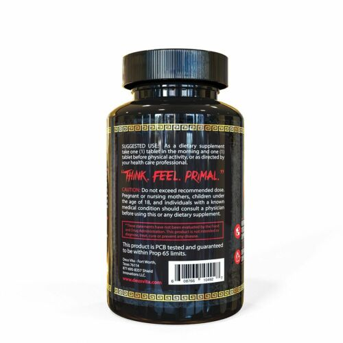 Top ated Natural Testosterone Booster for Menby Deus Vita Strongest Pill For
