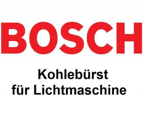 BOSCH Kohlebürste für Lichtmaschine 1004336536
