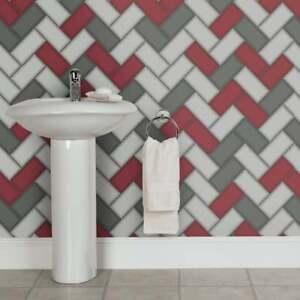 Wallpaper Holden Chevron Tile Glitter 3d Geometric Kitchen