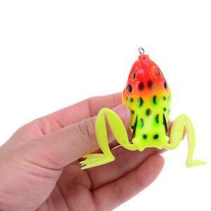 7cm-12g-Lifelike-Leg-Jump-Frog-Enticement-Lures-Silicone-Bait-Fishing-Tackle-LTA