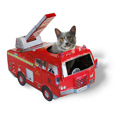 Suck Uk: Cat Playhouse - Fire Engine