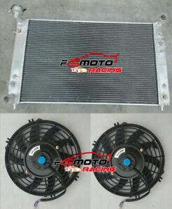 3-ROW-Aluminum-Radiator-Fans-for-Holden-Commodore-VT-VU-VX-HSV-V6-3-8L-petrol-AT