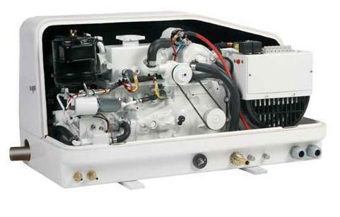 Next Gen 3 5 Kw Diesel Marine Generator Includes Sound Enclosure Ebay