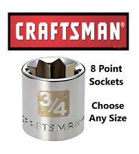"CRAFTSMAN 3//8/"" Standard Socket 3//8/"" Drive 12-Point  34632 NEW"