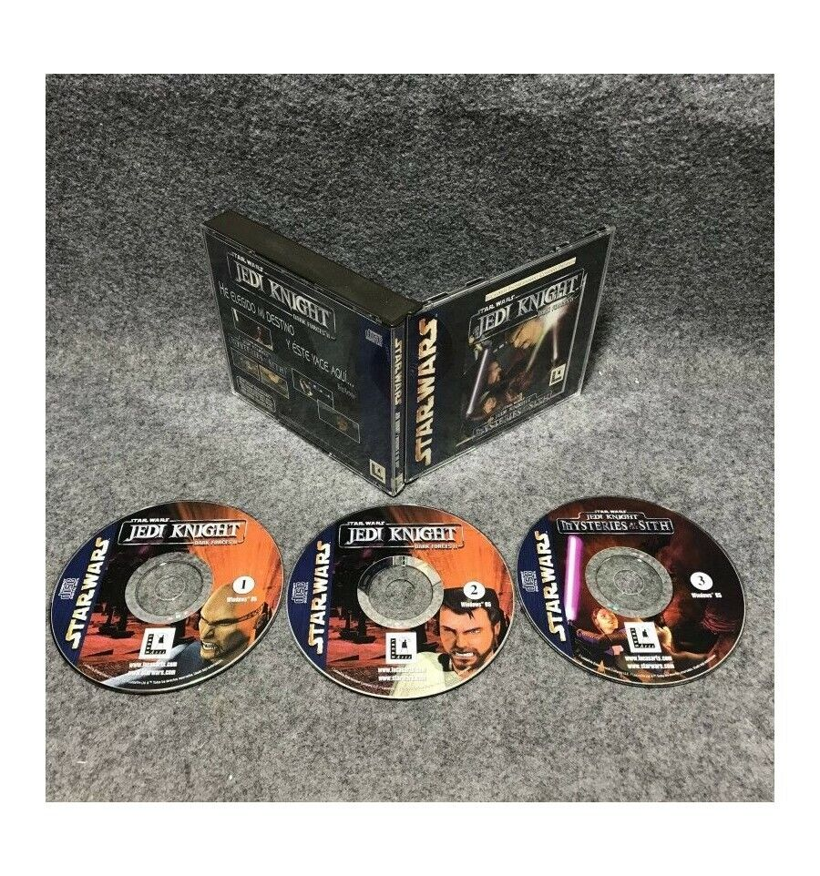 STAR WARS JEDI KNIGHT DARK FORCES II PC - Bonne affaire StarWars