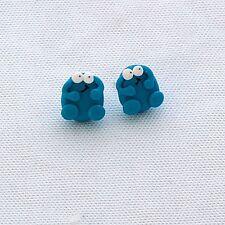 berk studs earrings trap door 80s retro cute